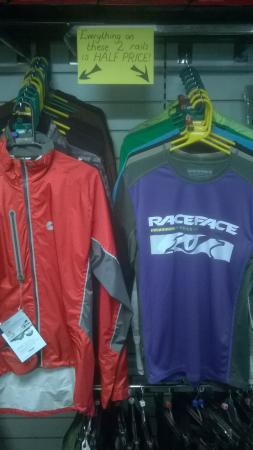 Crazy clothing clearance sale